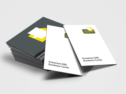 Matt laminated business cards essex sign and print colourmoves
